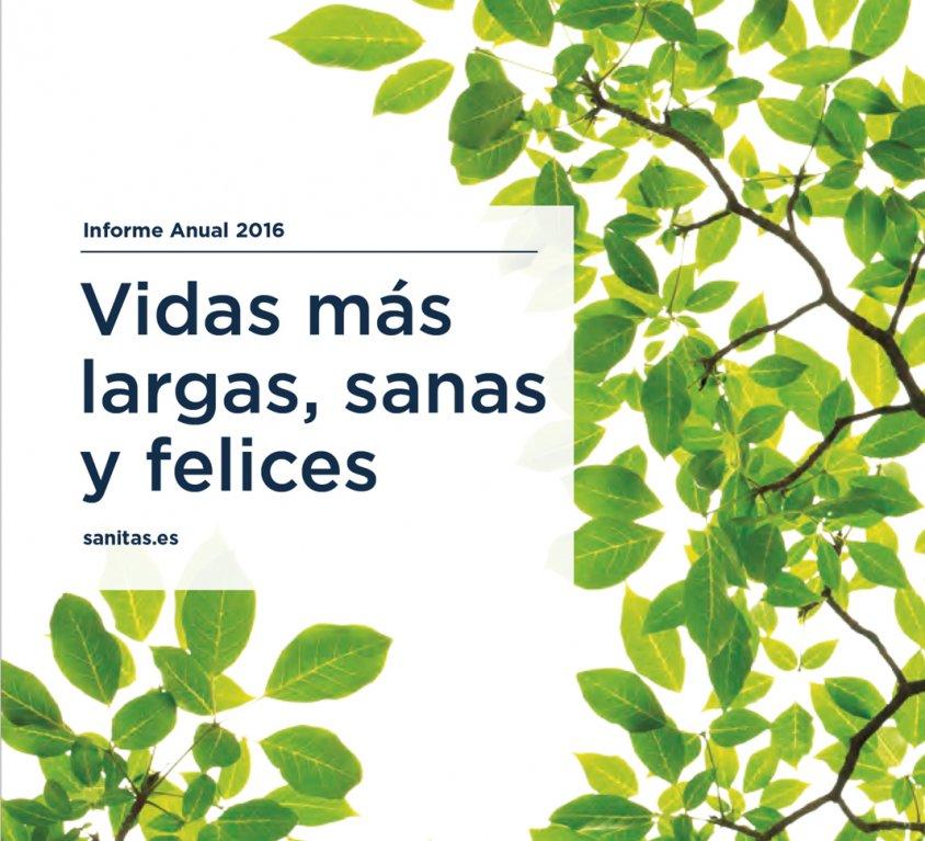 SANITAS INFORME ANUAL 2016